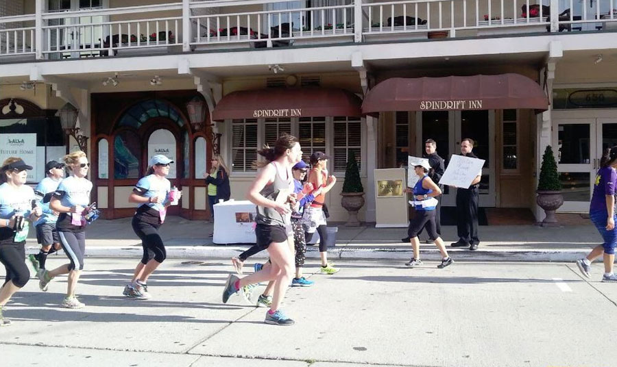 Big Sur Half Marathon on Monterey Bay